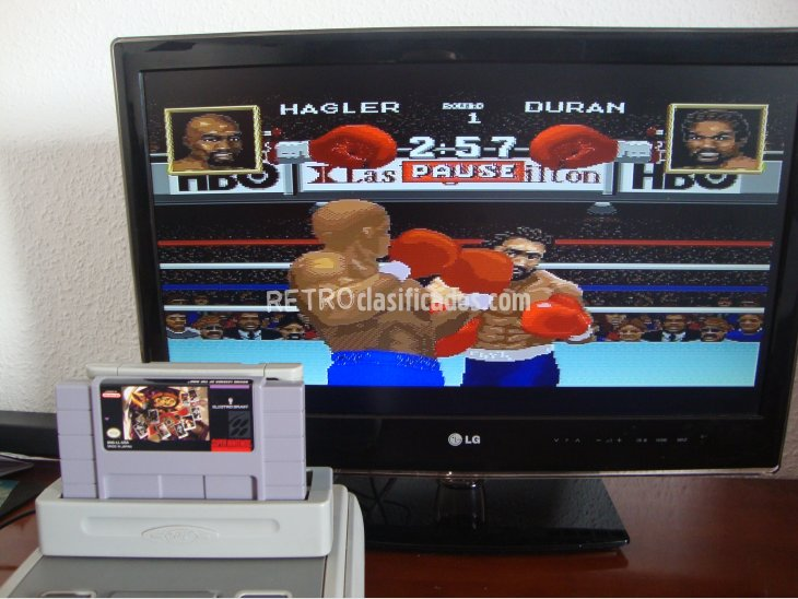 BOXING LEGENDS OF THE RING SNES NTSC 4