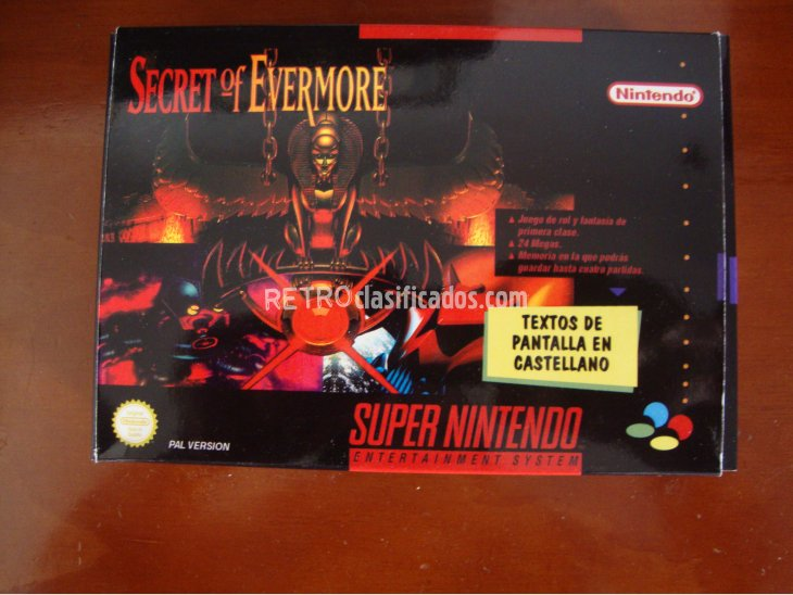 SECRET OF EVERMORE SNES 1