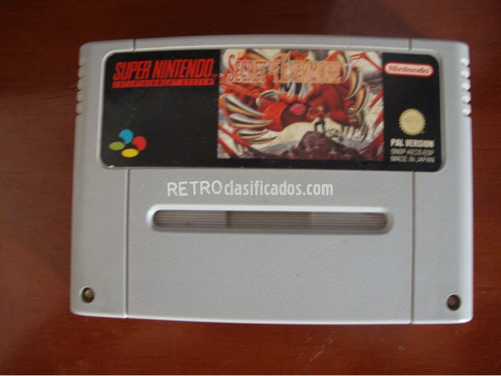 SECRET OF EVERMORE SNES 3