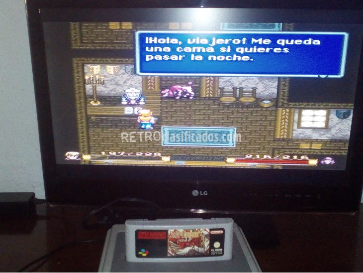SECRET OF EVERMORE SNES 4