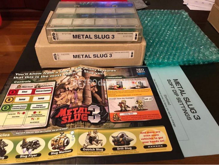 Metal Slug 3 Neo Geo MVS Kit SNK