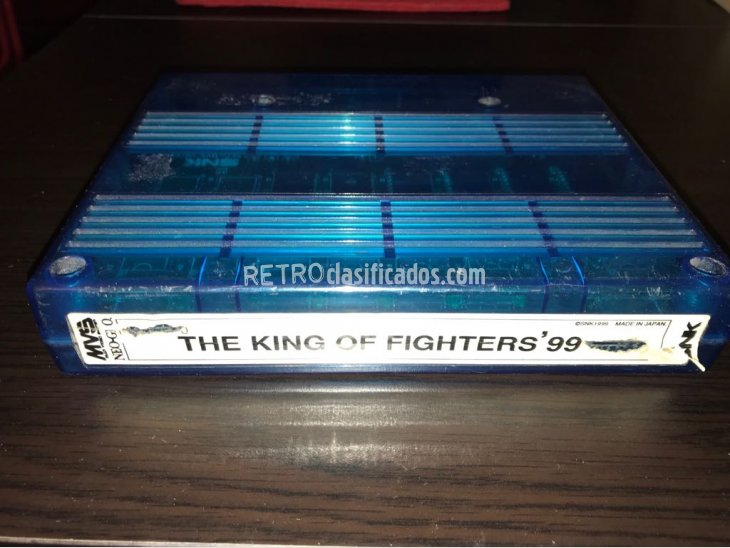 King of Fighters 99 Neo Geo MVS Cartucho SNK