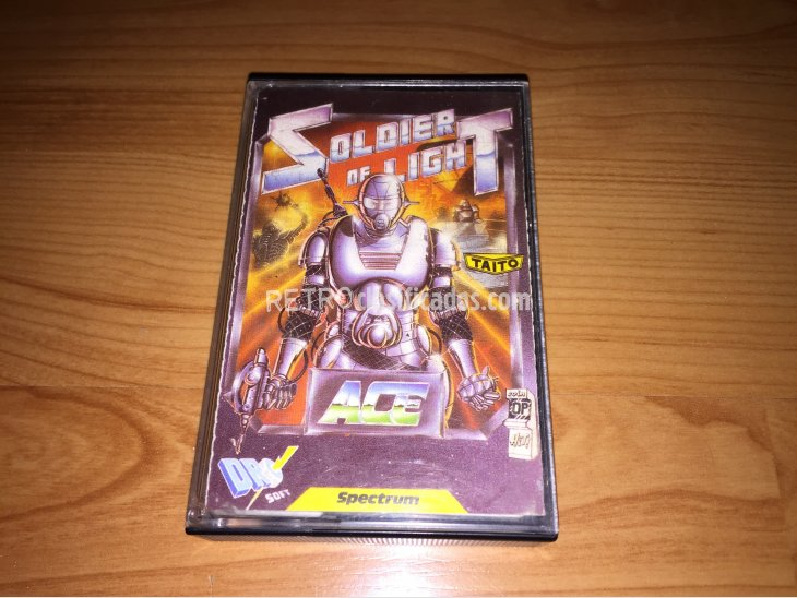 Soldier of Light juego original Spectrum 2