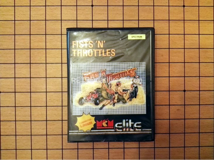 pack de juegos Fists 'n' Throttles para Spectrum 1