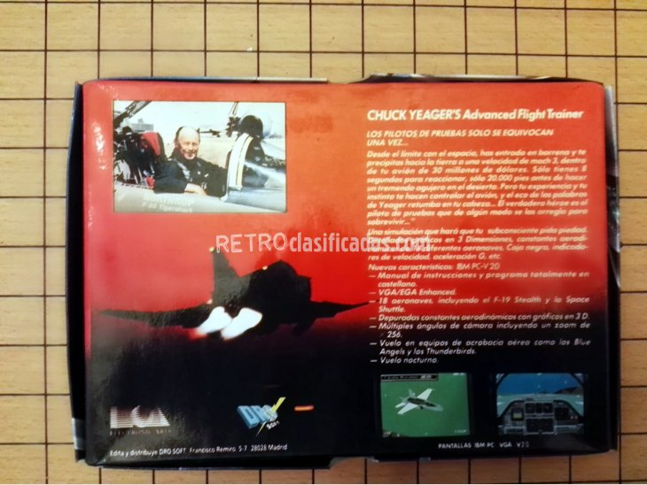 juego Chuck Yeager's Advanced Flight Trainer para Spectrum 2