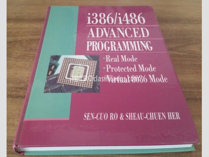 Libro programación i386/i486 Advanced Programming 1