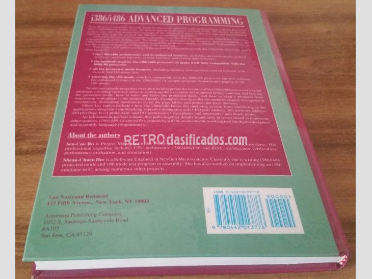Libro programación i386/i486 Advanced Programming 2
