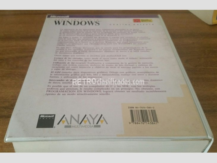 Libro de programación en Windows 2