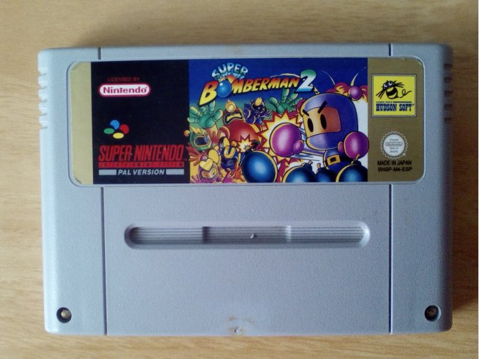 SUPER BOMBERMAN 2 SNES