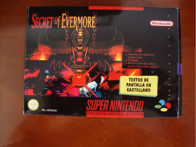 SECRET OF EVERMORE SNES