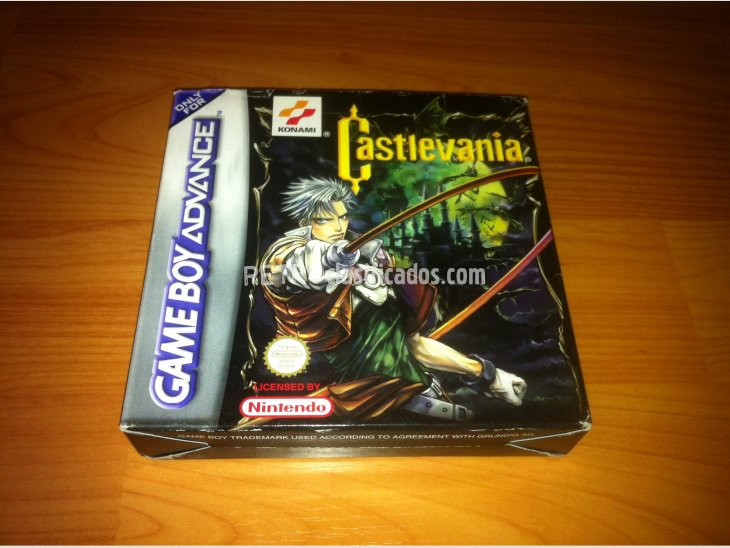 Castlevania Circle of the Moon GBA 2