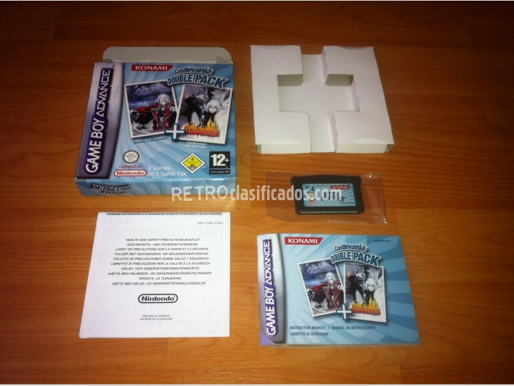 Castlevania Double Pack GBA 1