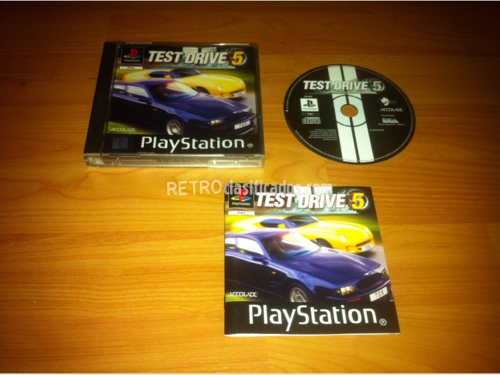 Test Drive 5 Play Station PSX 1
