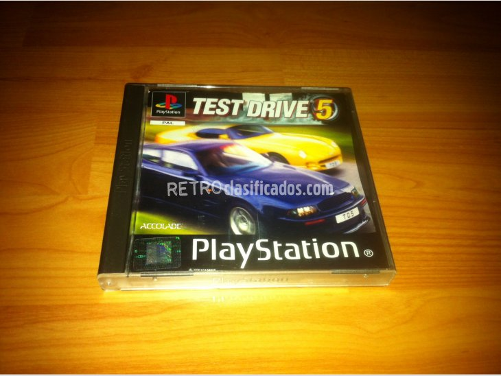 Test Drive 5 Play Station PSX 2