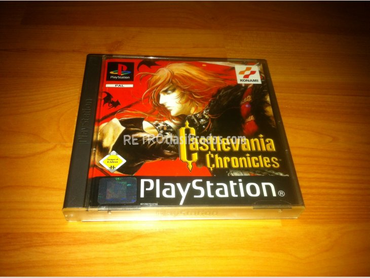 Castlevania Chronicles Play Station PSX 2