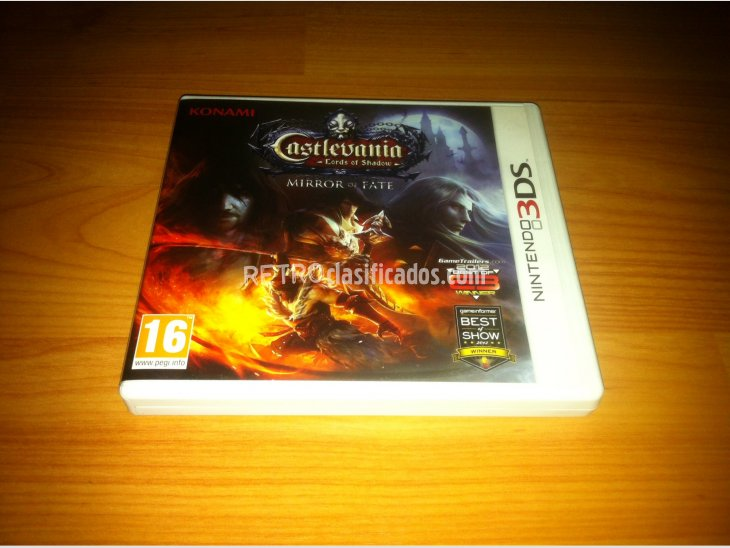 Castlevania Lords of Shadow Mirror of Fate N3DS 2