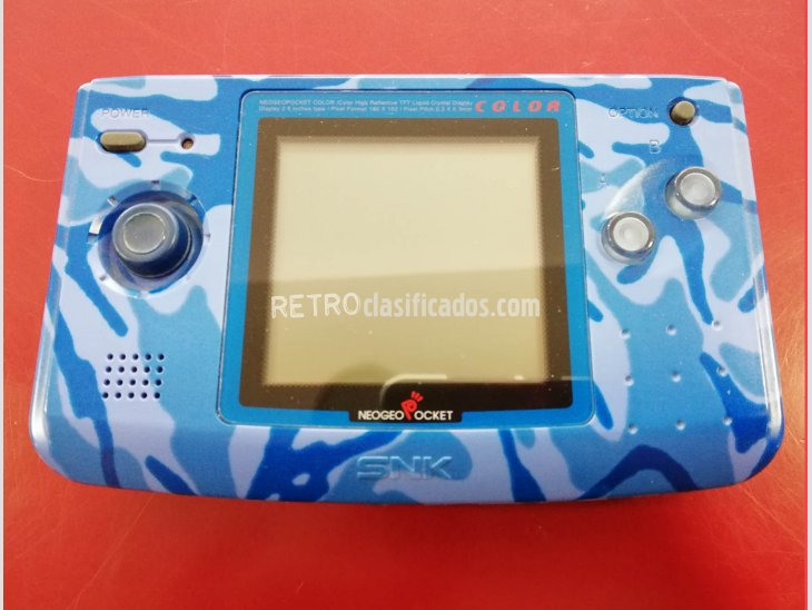 CONSOLA NEO GEO POCKET COLOR AQUA BLUE 3
