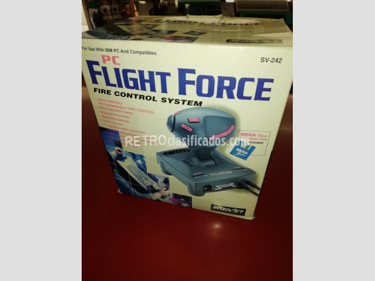JOYSTICK FLIGH FORCE FIRE CONTROL NUEVO 3
