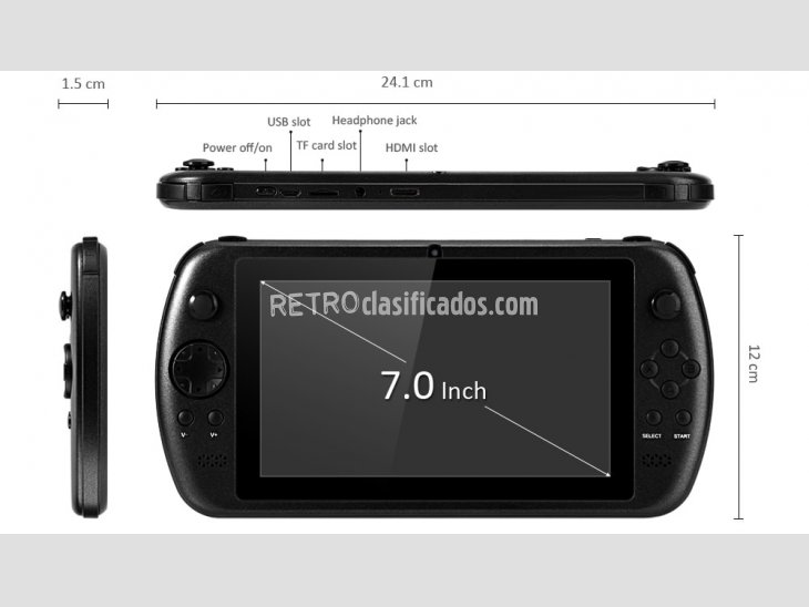 GPD Q9 PSV Consola Android 7 1