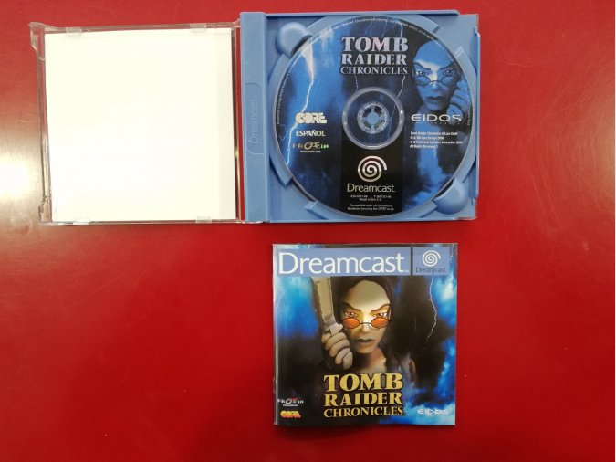 JUEGO TOMB RAIDER CHRONICLES DREAMCAST