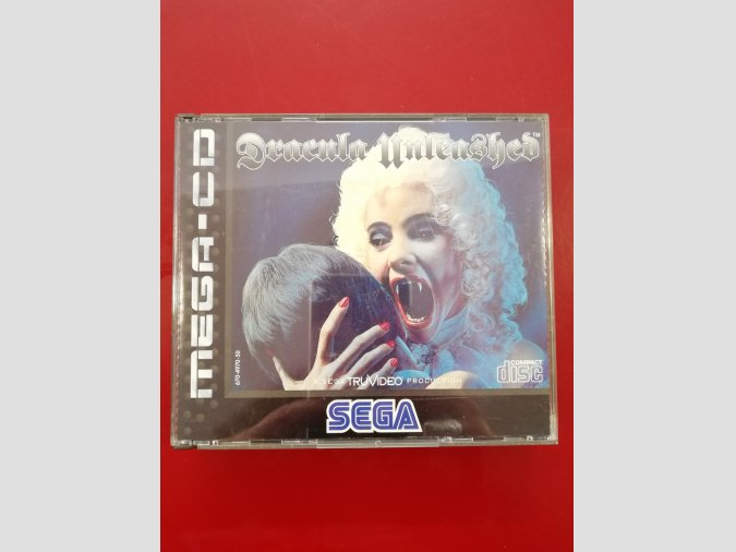 JUEGO PARA SEGA MEGA-CD DRACULA UNLEASHED