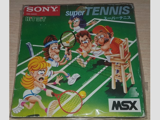 Super Tennis Sony Takara 1984 MSX1