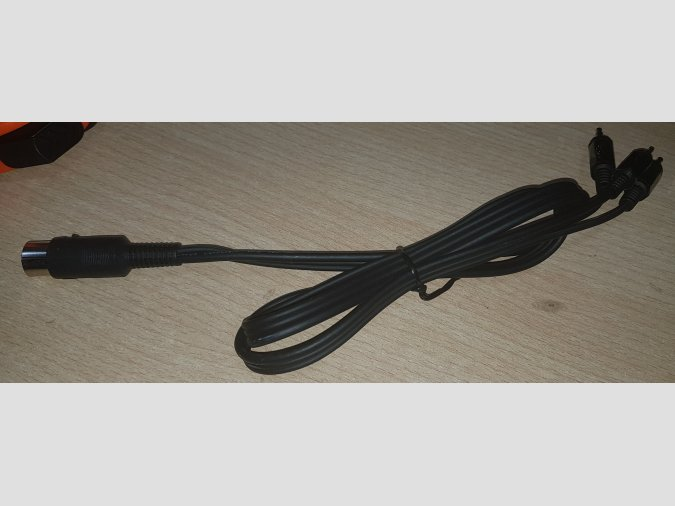 Cable cassette MSX - Ear, Mic, Remote