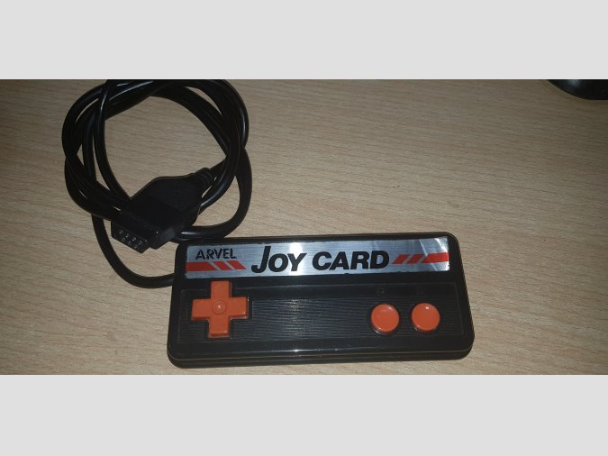 Joy card MSX - Marca Arvel