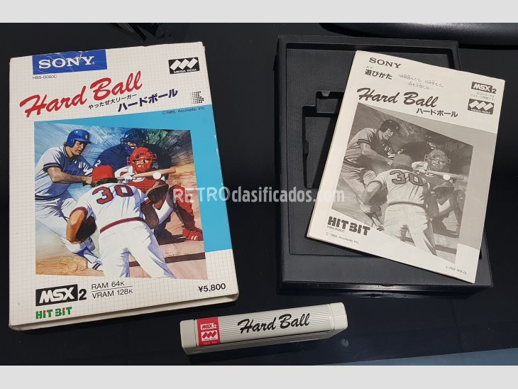 Hard Ball SONY MSX2 1987 1