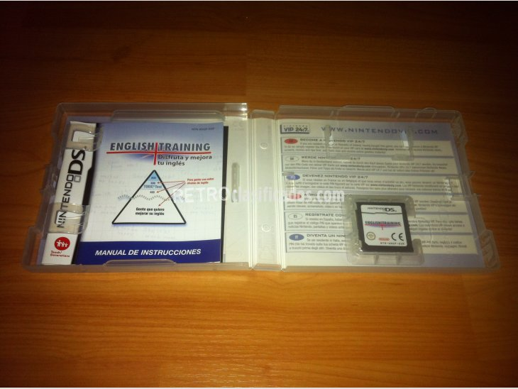 English Training Nintendo DS 2