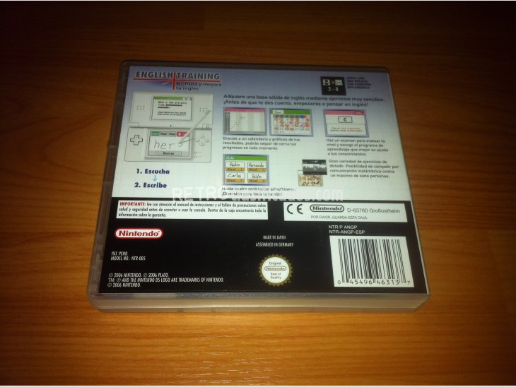 English Training Nintendo DS 4