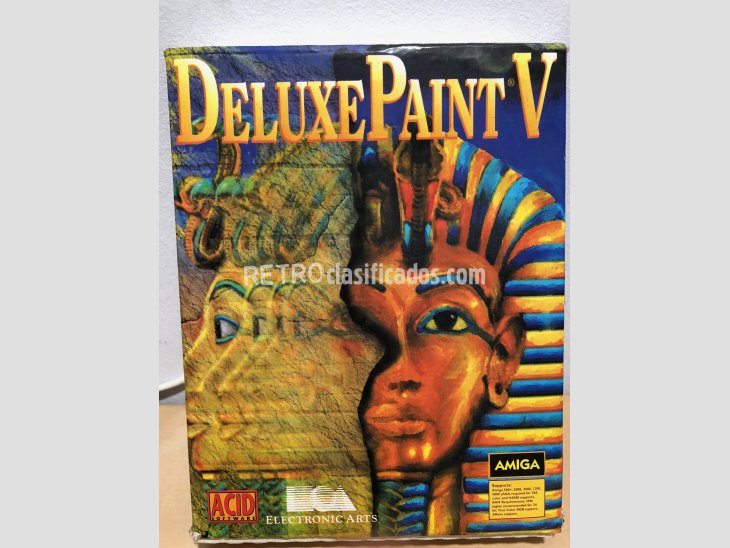 Software Amiga Deluxe Paint V 1