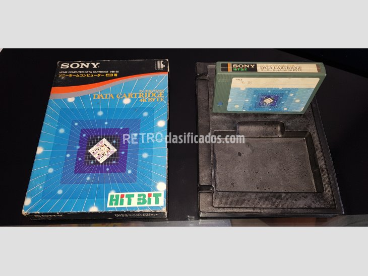 MSX Data Cartridge Sony HBI-55