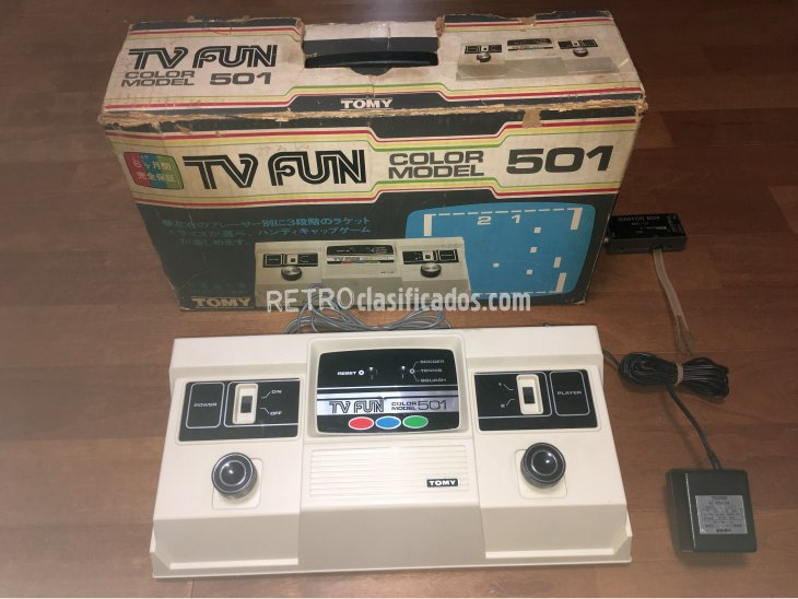 TOMY TV Fun Color Model 501 1