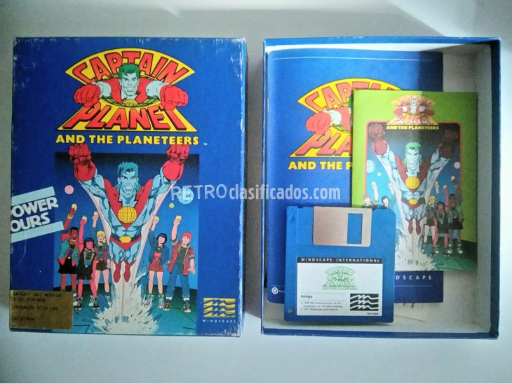 Captain Planet And The Planeteers 1