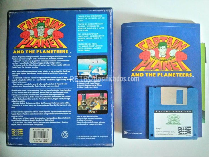 Captain Planet And The Planeteers 2