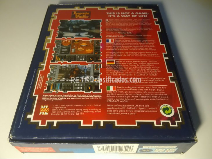 Legends of Valour Commodore Amiga 5