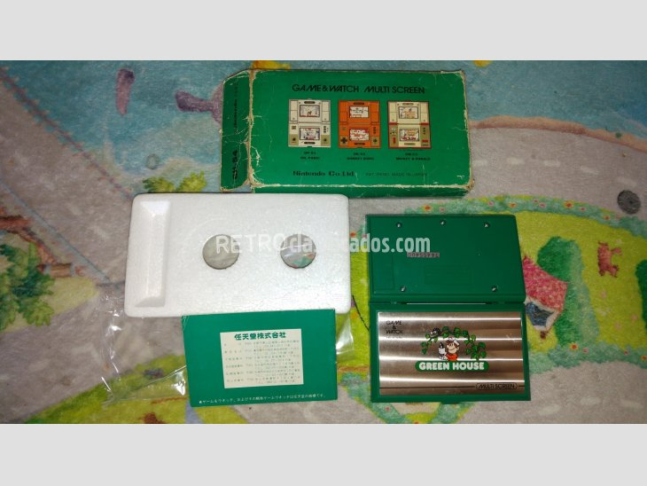 nintendo game&watch green house completa 2