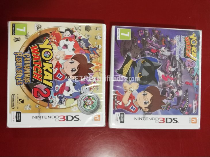 PACK YO KAI 2 WATCH CARNANIMAS+YO KAI 2 MENTESPECTROS N3DS P 1
