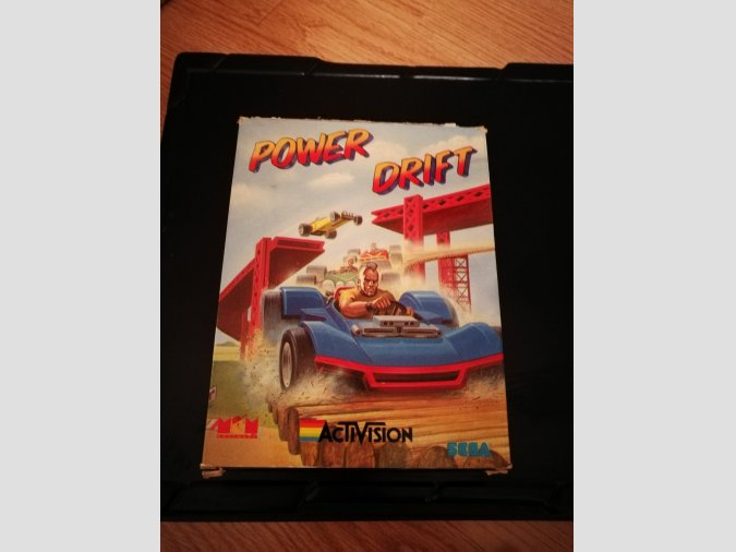Power Drift para MSX