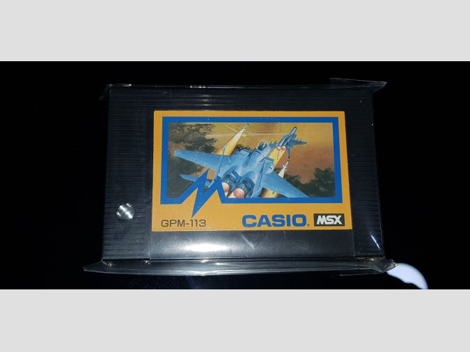 Eagle Fighter Casio Nº13 MSX1 1985 GPM-113