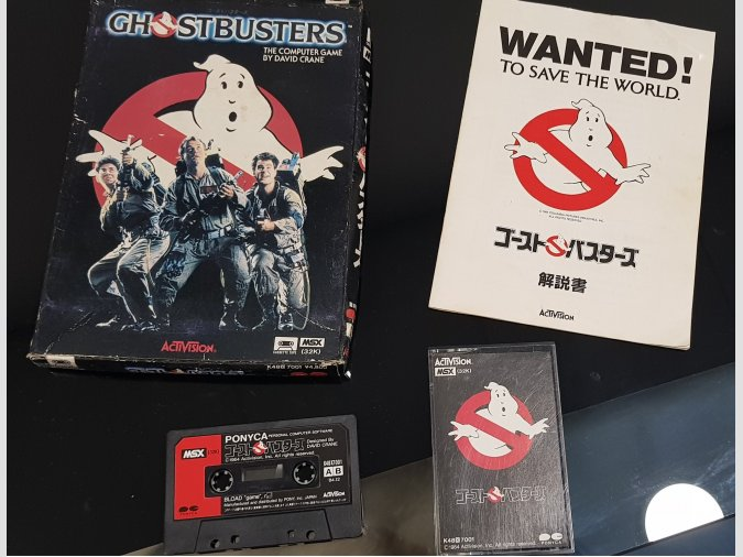 Ghostbusters Activision/Ponyca MSX1 1984