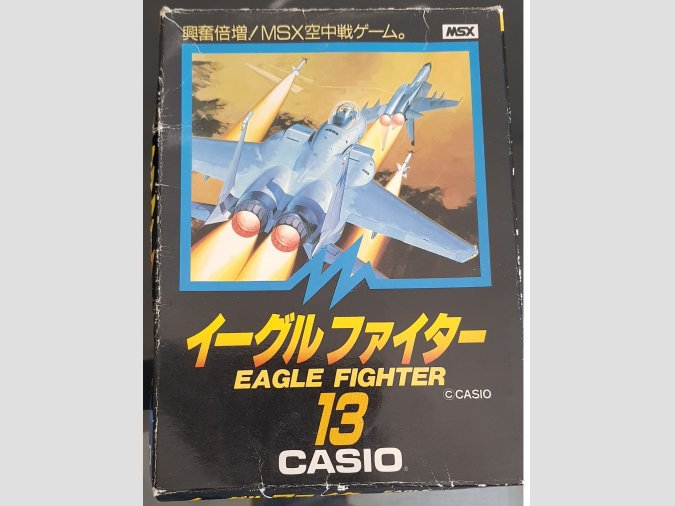 Eagle Fighter CASIO MSX1 Completo