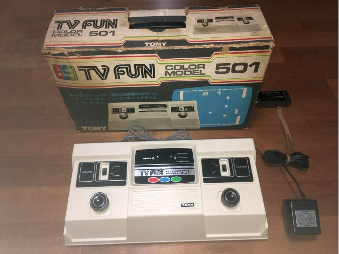 TOMY TV Fun Color Model 501