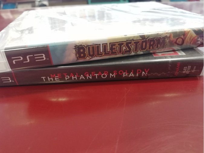 PACK METAL GEAR SOLID V+BULLETSTORM PRECINTADOS PS3