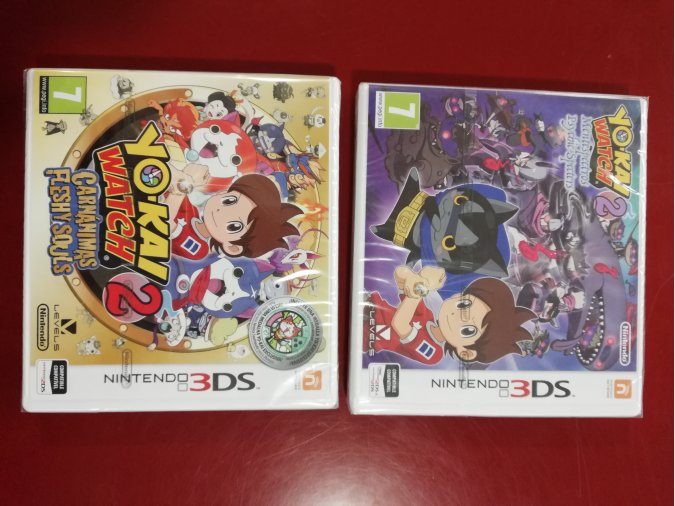 PACK YO KAI 2 WATCH CARNANIMAS+YO KAI 2 MENTESPECTROS N3DS P