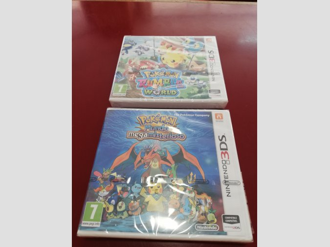 PACK 2 JUEGOS PRECINTADOS N3DS POKEMON