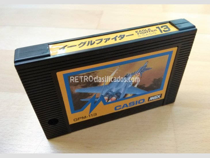 Juego MSX Eagle Fighter Casio 1985 1