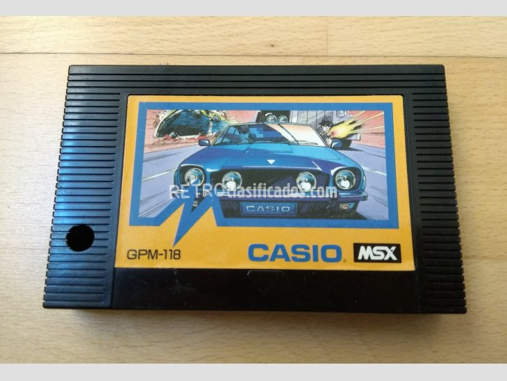 Juego MSX Car Fighter Casio 1985 2