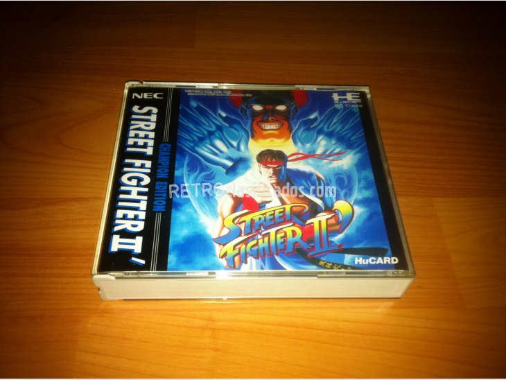 Street Fighter 2' Champion Edition PC-ENGINE 2
